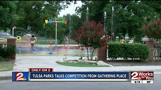 Tulsa parks talks competition from Gathering Place