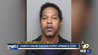 Church's Chicken shooting suspect pleads not guilty