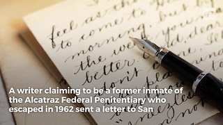 Mysterious Letter Brings New Look at Alcatraz Escape - Video
