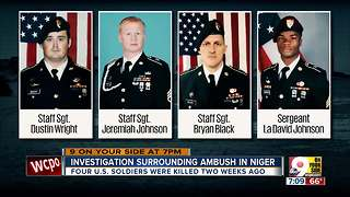 Investigation surrounding ambush in Niger - Video