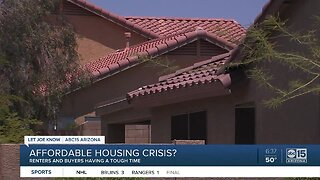 Renters, buyers having a tough time finding affordable housing in the Valley