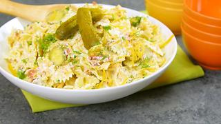 Pickle Pasta Salad - Video