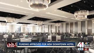 Hurdle cleared for downtown KC convention hotel - Video