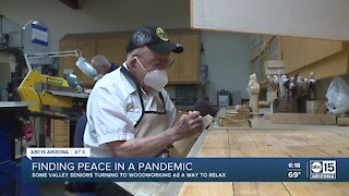 Valley seniors turn to woodworking during pandemic