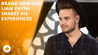Liam Payne is a hands-on dad! - Video