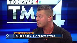 Ask the Expert: Exercise reduces stress - Video