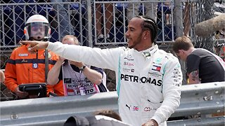 Lewis Hamilton and Max Verstappen bump, Hamilton holds on in Monaco