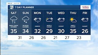 Rain transitions to snow, roads slick this weekend in some spots