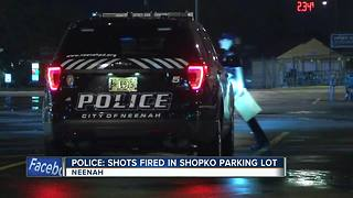 Police investigating reports of shots fired outside of Shopko store in Neenah - Video