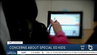 Concerns about special education kids amid virtual learning plans