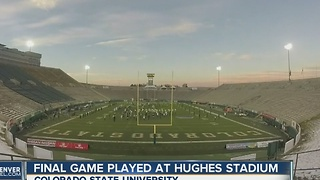 Final glame played at Hugues Stadium - Video