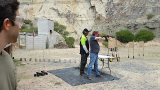 SOUTH AFRICA - Cape Town - Western Cape Firearms Festival (video) (TkW)