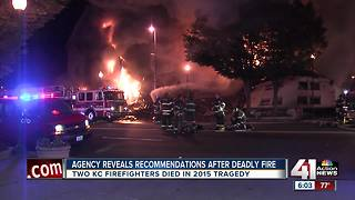 National report to be released on 2015 deaths of KC firefighters - Video