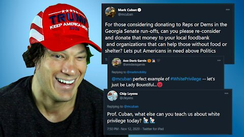 Lunatic Left RIPS Mark Cuban for saying donate to food banks