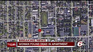 Dead woman found in north side Indianapolis apartment - Video
