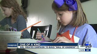 An 8-year-old Colorado girl is trying to change the world with a kindness wall