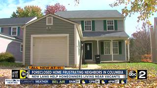 Foreclosure in desirable neighborhood frustrates residents - Video