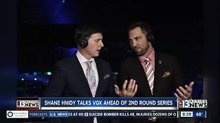 Shane Hnidy talks Vegas Golden Knights ahead of second round playoff series