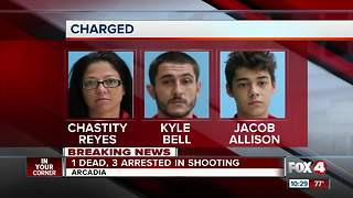 3 arrested in Desoto County shooting