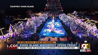 Kings Island ready for WinterFest - Video