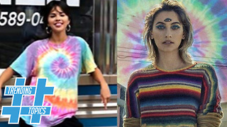 Selena Gomez & Paris Jackson Bring Back The 60's With Tye Dye Fashion Trend! | Trending Topics!