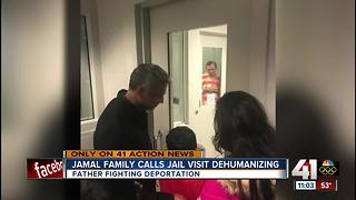 Family sees Lawrence professor facing deportation for first time since his arrest - Video