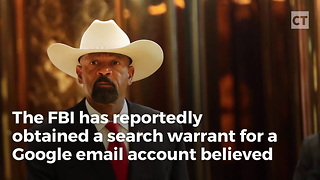Fbi Deep State Has Search Warrant For Sheriff Clarke - Video