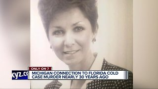 Michigan connection to Florida cold case murder nearly 30 years ago