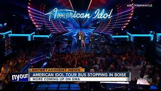 American Idol Tour Bus coming to Boise - Video