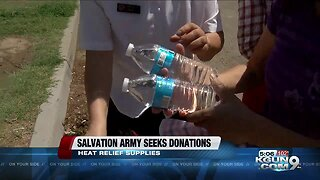 Salvation Army in need of water bottles
