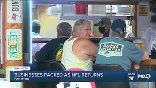 NFL games drive customers to local restaurants
