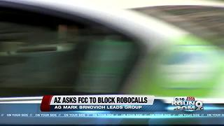AZ Attorney General urges federal government to take action against spoof robocalls - Video