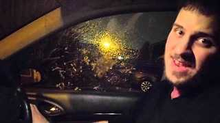 Man and Car Window Cover the Birdie/Chicken Dance Song - Video