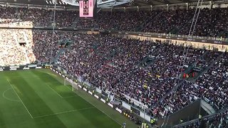 Soccer Fans Celebrate Record-Breaking Crowd for Juventus Women's Game With Mexican Wave