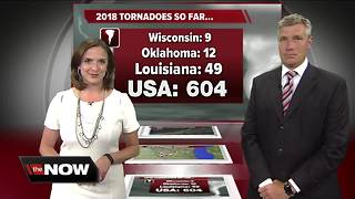 Geeking Out: Tornado watches this year - Video