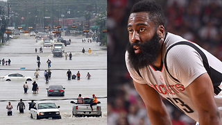 James Harden SLAMMED by Houston Fans for Not Helping Hurricane Flooding Victims - Video