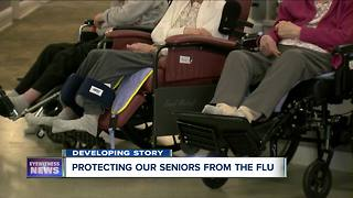 Elderwood protecting the elderly from the flu - Video