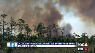 Concerns over air quality during wildfires - Video