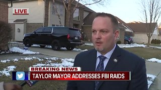 Taylor mayor addresses FBI raid