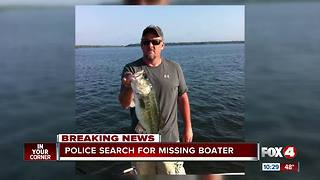 Missing boater - Video