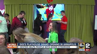 GiGi's Playhouse holds Grand Opening in Annapolis - Video