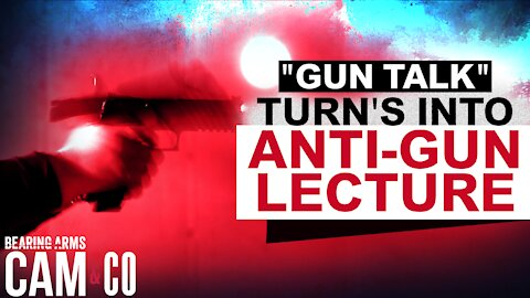 "Attempt To ""Talk About Guns"" Turns Into Another Anti-Gun Lecture"