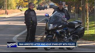 Man arrested after east Boise stand-off - Video