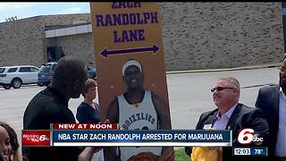 ESPN: Former Marion High School basketball star Zach Randolph arrested on drug charges - Video