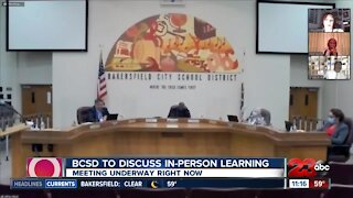 BCSD moving forward with phased reopening of schools