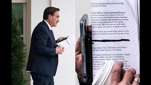 The Story Behind That White House Photo of Mike Lindell - The Hagmann Report 02/8/2021