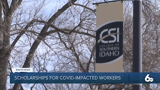 College of Southern Idaho offering scholarships to workers impacted by COVID-19