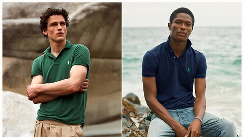Ralph Lauren's new 'Earth Polo' is made from recycled materials