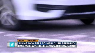 Tampa Bay Area's community uses HOA fees to curb speeding - Video