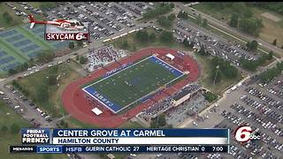 Highlights: Center Grove beats Carmel 31-10 - Video